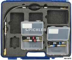 Manual Pump Fuel System Bleeding Kit Metric