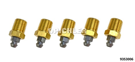 Bremssattel-Entlüfterventil Reparaturset 5-tlg. 1/4NPT