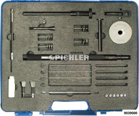 Reinigungsbürstenset JP komplett mit Stahlbürsten Dichtringauszieher, Hammer