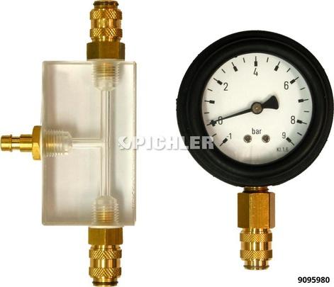 Kraftstoffsystem Druckprüfsatz 2-tlg.