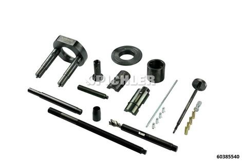 Injektor-Demontage FORD 2.0 TDCI ohne 12 t. Hydraulik-Zylinder