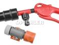 Kühlsystemspüler inkl. SB-Regulierstopp und DL-Kupplung