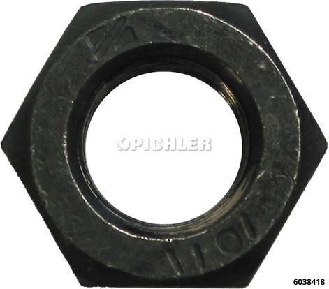 6-kt Mutter M14 DIN934 Fkl8.8 Blank zu 6038400 für 6038414 Spindel