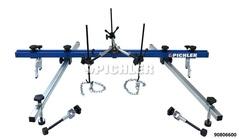 Pont moteur MASTER extra large, kit avec accessoires et pieds ajustables