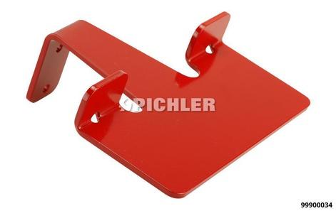 MODULE 3: Support pour boîtes à gants revêtu rouge