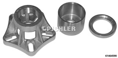 Complementary set Wheel Bearing Tool 61464585 infront to 61464580 behind Peugeot Boxer, Citroen Jumper, Fiat Ducato Aus-/Einbau