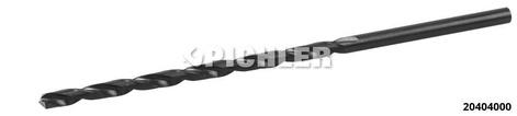 HSS Spiralbohrer lang 4,00 mm DIN 340, Präzisionsgeschliffen