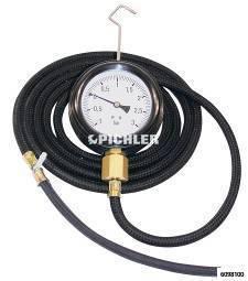 Druck- u. Unterdruck- Prüfgerät Mod. C  TDU 04 Turbolader -1 BIS 3 Bar