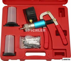Pressure and Vacuum Pump Set with Accessories Metal