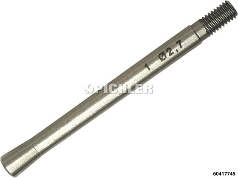 Glühspitzen-Auszieheinsatz Klemmhülse 2,7mm Gr. 1