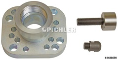 Puller Set for Truck Hubs without Wheel Studs