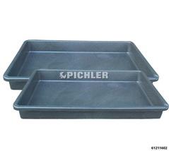 Auffangwannen- Set 2-tlg. extra flach Volumen 45 Liter, 880x600x100 mm