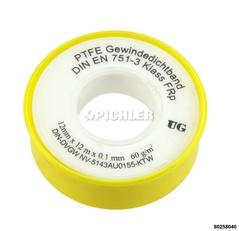 Gewindedichtband FRp Teflonband für z.B. Feingewinde DN10