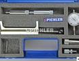 Diesel-Einspritzpumpen- Werkzeug 8-tlg. mit Messuhr im Koffer