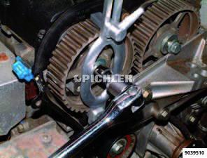 Gegenhalter Nockenwellenrad universal Arretierwerkzeug