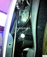 Clé de dé/montage T30x250mm pour visserie pare-choc sur MB classe E