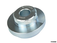 Disque d'extraction avec perçage central passant pour démontage roulement de roue VAG