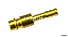 Stecknippel für Eurokupplung Schlauchanschluss 6 mm