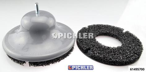 Schleifscheibenaufsatz zum Entrosten der PKW-Radnaben U/min max 1500 drm. 200 mm; Gr. 2 (Ø 200) Grundgerät mit 2 Reinigungsscheiben