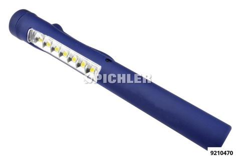 Taschenlampe MAG PEN 3 7 LEDs Hauptleuchte, 1 LED Spotleuchte 750mAh Akku