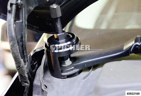 Scheibenwischerarm-Abzieher Ford universell Set mit Grundgerät und 4 Aufsätzen