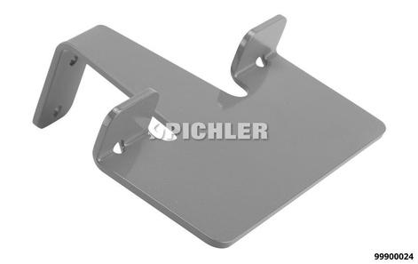 MODUL 3: Halter für Gummihandschuhe pulverbeschichtet in grau