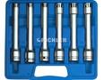 E-Profil Steckschlüssel Set E 10 bis E 20 extra lang