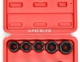 Ausdreher Set TWIST SOCKET 9-tlg. 10-19 mm Antr. 3/8 in Plastikkassette