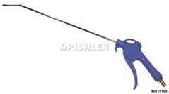 Blaspistole mit 33 cm langem  8 mm Rohr