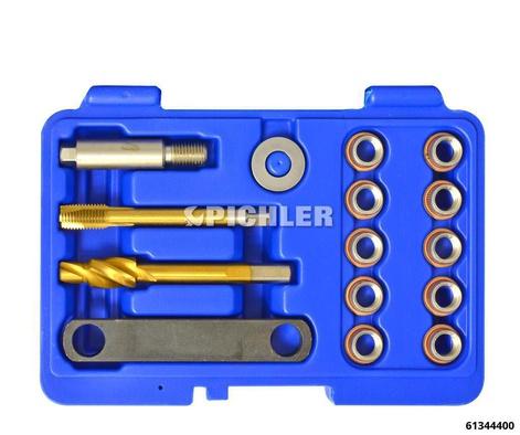 Gewindereparatursatz 12x1,5 Bremssattel-Führungsbolzen i.Radlagergehäuse VAG usw.