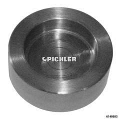 Pressplatte für LKW Radnabenabzieher universell passend 8 Bolzen 275 mm10 Bolzen mit 335 mm