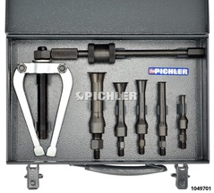 Internal extractor sets Set size 1 10 - 37 mm holes
