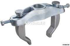 Outil de démontage pour roulement de roue compact avec moyeu intégré