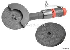 Druckluft MINI Tiefenschleifer Set inkl. 5 Stk. Trennscheibe 75x1,2x10mm