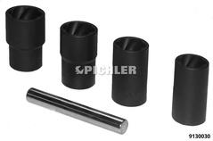 Twist Sockets 4-tlg. 17mm,19mm,21mm,22mm