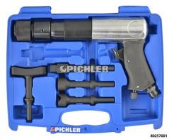 Kit pneumatique VIBRO IMPACT marteau percuteur avec 4 embouts