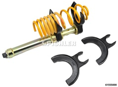 Telescopic Coil Spring Compressor Set 25kN