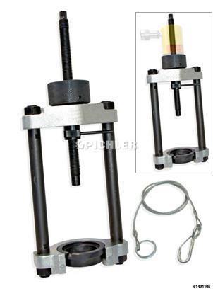 Grundgerät U14Hoz ohne Hydraulikzylinder mit Einlegering, Adapter, Sicherungsseil