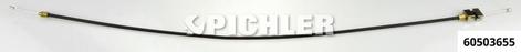 Bowdenzug Rep.-Satz für flexible  Zange Mod.RS 60503650 Zug, Hülle, Kappen 2-tlg.