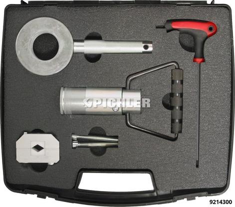 Stoßdämpfer Montageeinheit UNI Set 5-teilig im Koffer