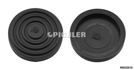 Hebebühnen-Gummiteller Ø 100 mm