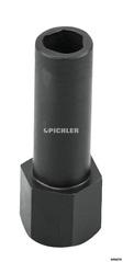 Spezial-Stecknuss BOSCH VE- Sicherheitsschraube 8,0 mm der Abdeckung Thermoelement