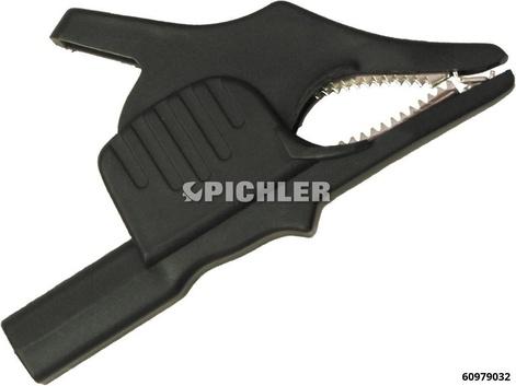 Krokodilklemme Schwarz