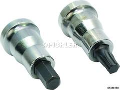 Inbus + Torx-Einsatz SBC Satz 2-tlg für MB mit SBC-Bremsanlage SW7 + TX40 Antr.3/8 L=41,0mm