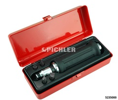 Impact driver set 6 pcs Mod. S 1/2  and 5/16 hexagonal drive in a steel box
