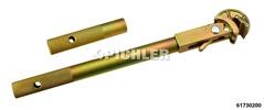 Spurstangen-Einhandschlüßel PKW 360 mm Version MÜE selbstspannend