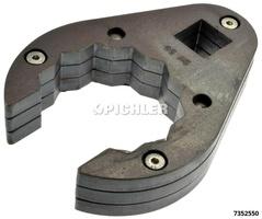 Leitungsschlüssel offen SW 55 - 12 kant - A 3/4 Tropfenform
