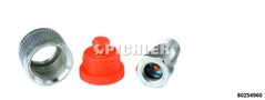 Hydraulik-Kupplung 1/4NPT Longus Zylinderseitig