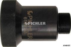 Adapter f.Hydraulikzylinder (8025100) in Flansch von 1 1/216G auf 2 6/816G