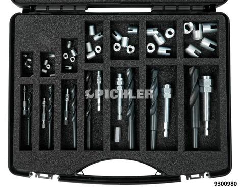 Gewindereparatur-Sortiment M3 - M 12 ECO
